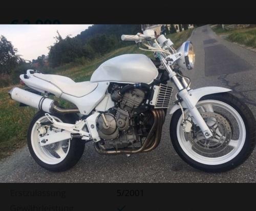 Motorrad  1 weiss Info Tel. 06644512100 Weitervermittlung viele verschiedene Motorräder