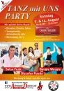 Casino Velden  A1 TANZ mit UNS PARTY So 7.u.14.8 mit Workshop ab 16h AllroundDancer am Wörthersee