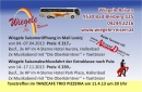 Wiegele Reisen Visitenkarte Saisoneröffnung in Mali Losinj 04. - 07.04.2013 Tanztreffen Trio am Donnerstag 11.4.