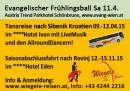 Wiegele Reisen  9.-12.15  Saison Eröffnung u abschlußfahrt 12-15.11.15 mit Allround Dancer und Oberkärntner